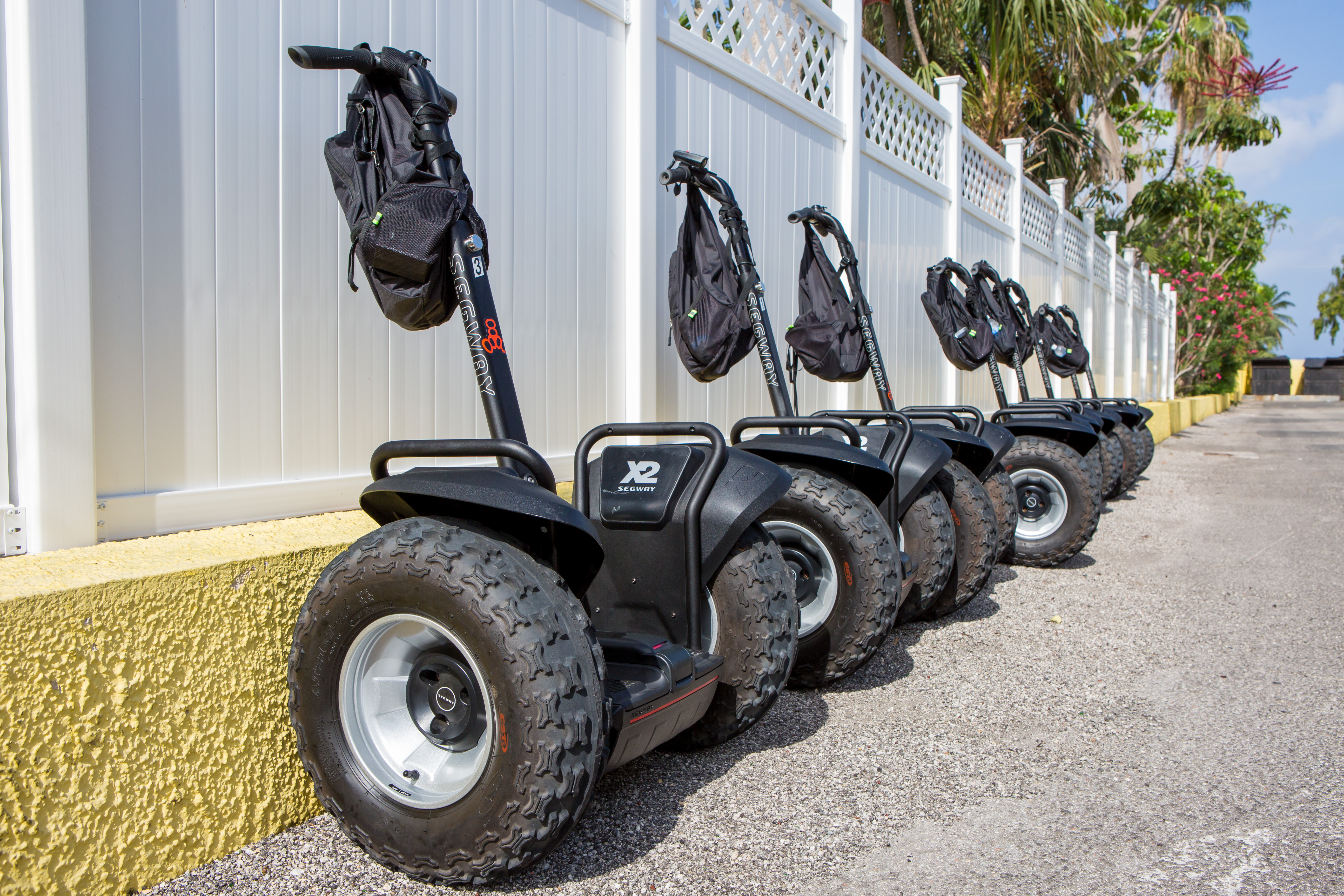Cayman Segways ready to go